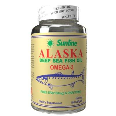 Sunline Alaska Deep Sea Fish Oil Omega 3